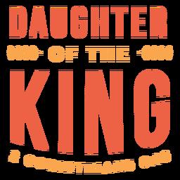 Letras de la hija del rey