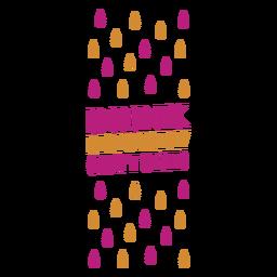 Beber con responsabilidad etiqueta de vino