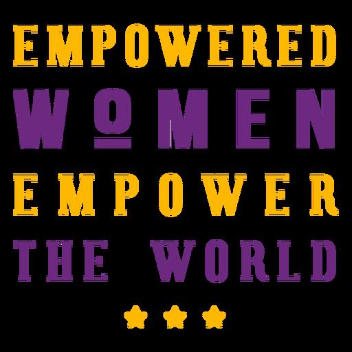 Letras de mulheres com poderes Transparent PNG