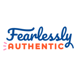 Fearlessly authentic lettering