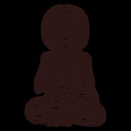 Gautama buddha black