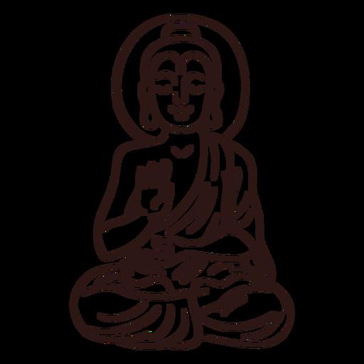 Gautama Buddha Schlaganfall
