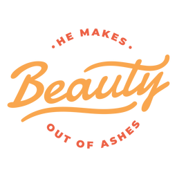 He makes beauty lettering