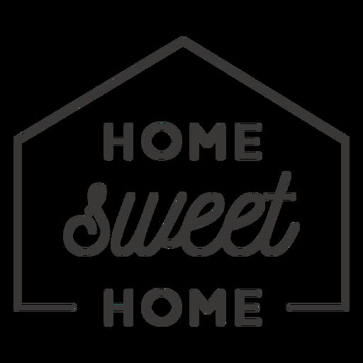 Insignia hogar dulce hogar