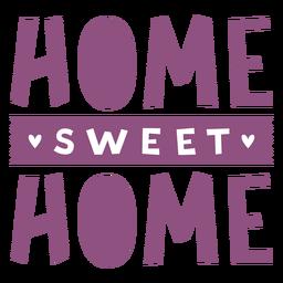 Letras de hogar dulce hogar
