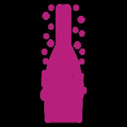 Vamos a obtener una etiqueta de vino alegre