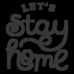 Vamos a quedarnos en casa letras