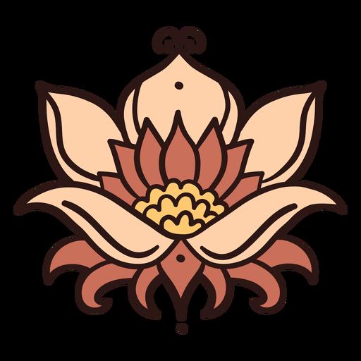 Lotus flower illustration lotus Transparent PNG