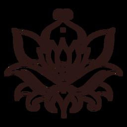 Curso de flor de lótus