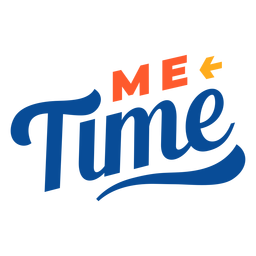 Me time lettering