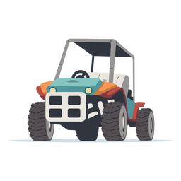 Outdoors buggy illustration