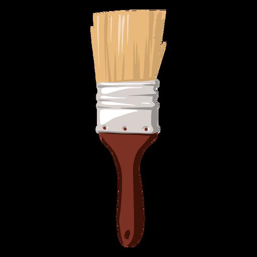 Pincel de pintura de ilustração