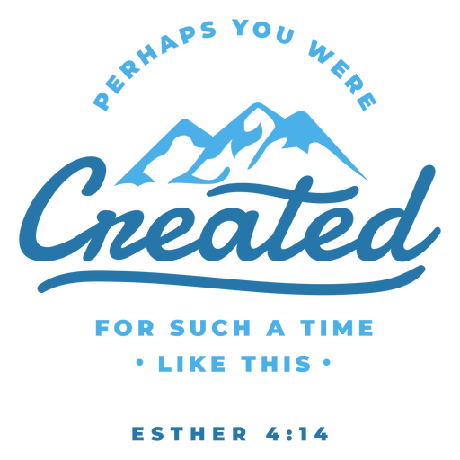Perhaps you were created lettering
