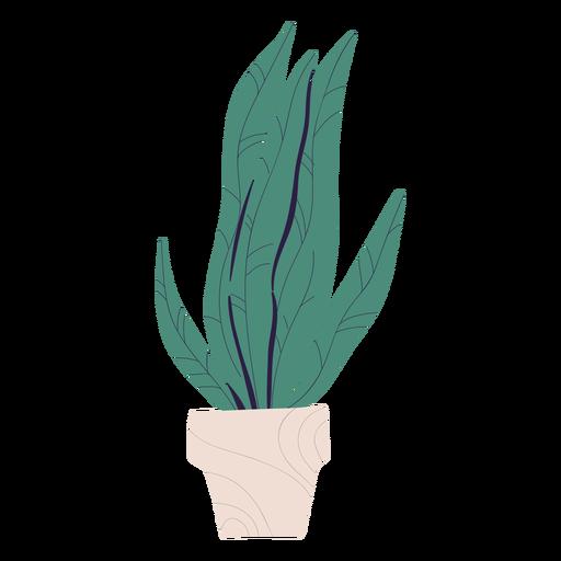 Planta en maceta ilustración