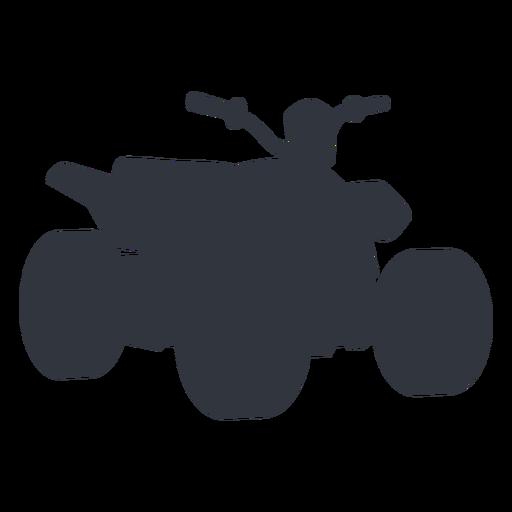 Quad bike silhouette Transparent PNG