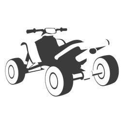 Quad bike transport black