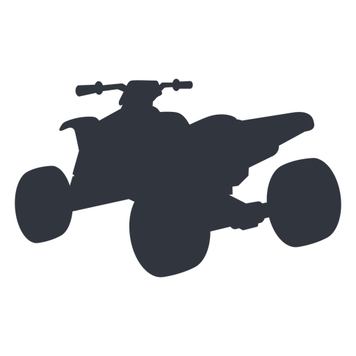 Quad bike transport silhouette Transparent PNG