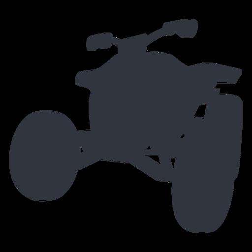 Silueta de quad de carreras Transparent PNG