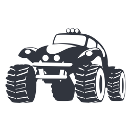 Carro de rali preto