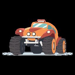 Ilustração de carro de rali