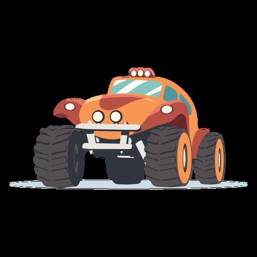 Ilustración de coche de rally