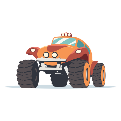 Rally car illustration Transparent PNG