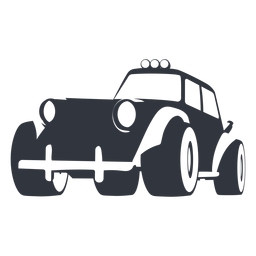 Rally buggy illustration