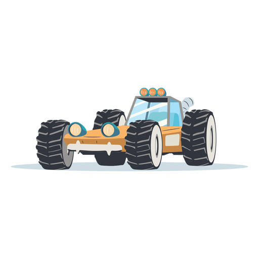 Rally buggy illustration rally