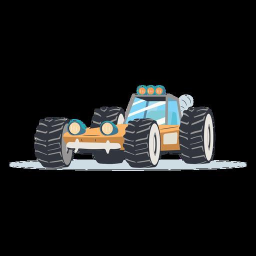 Rally buggy ilustración rally