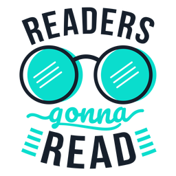 Readers gonna read lettering