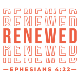 Letras religiosas renovadas