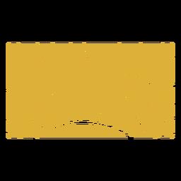 Rising sun pattern