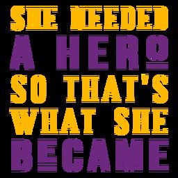 Ella el héroe letras