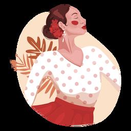 Personaje realista mujer española