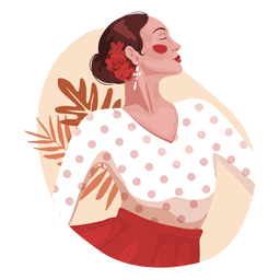 Spanish woman realistic character
