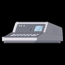 Ilustración de computadora vintage