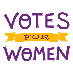 Votos para letras de mujeres
