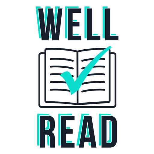 Well read lettering
