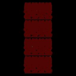 Wine glass pattern