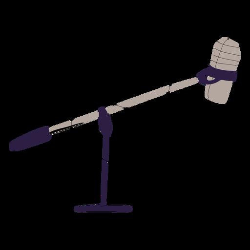 Studio mic illustration