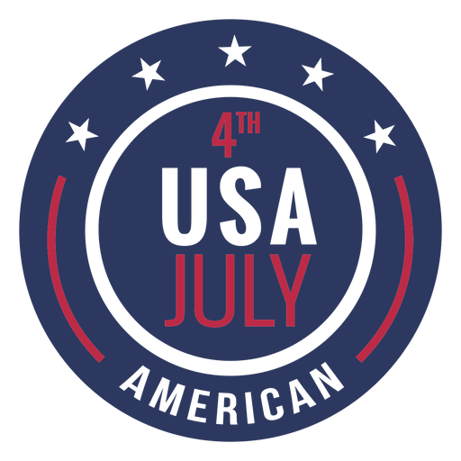 Insignia americana 4 de julio