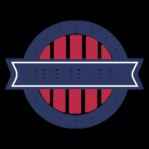 Diseño de placa de color del día de la independencia