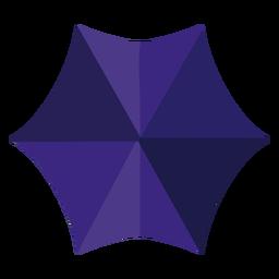 Paraguas azul de la ilustración de arriba