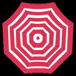 Paraguas rojo de la ilustración de arriba