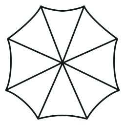 Umbrella above stroke