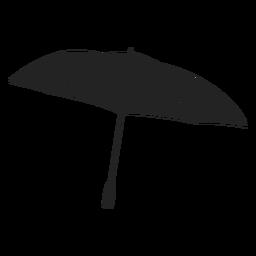 Umbrella black black