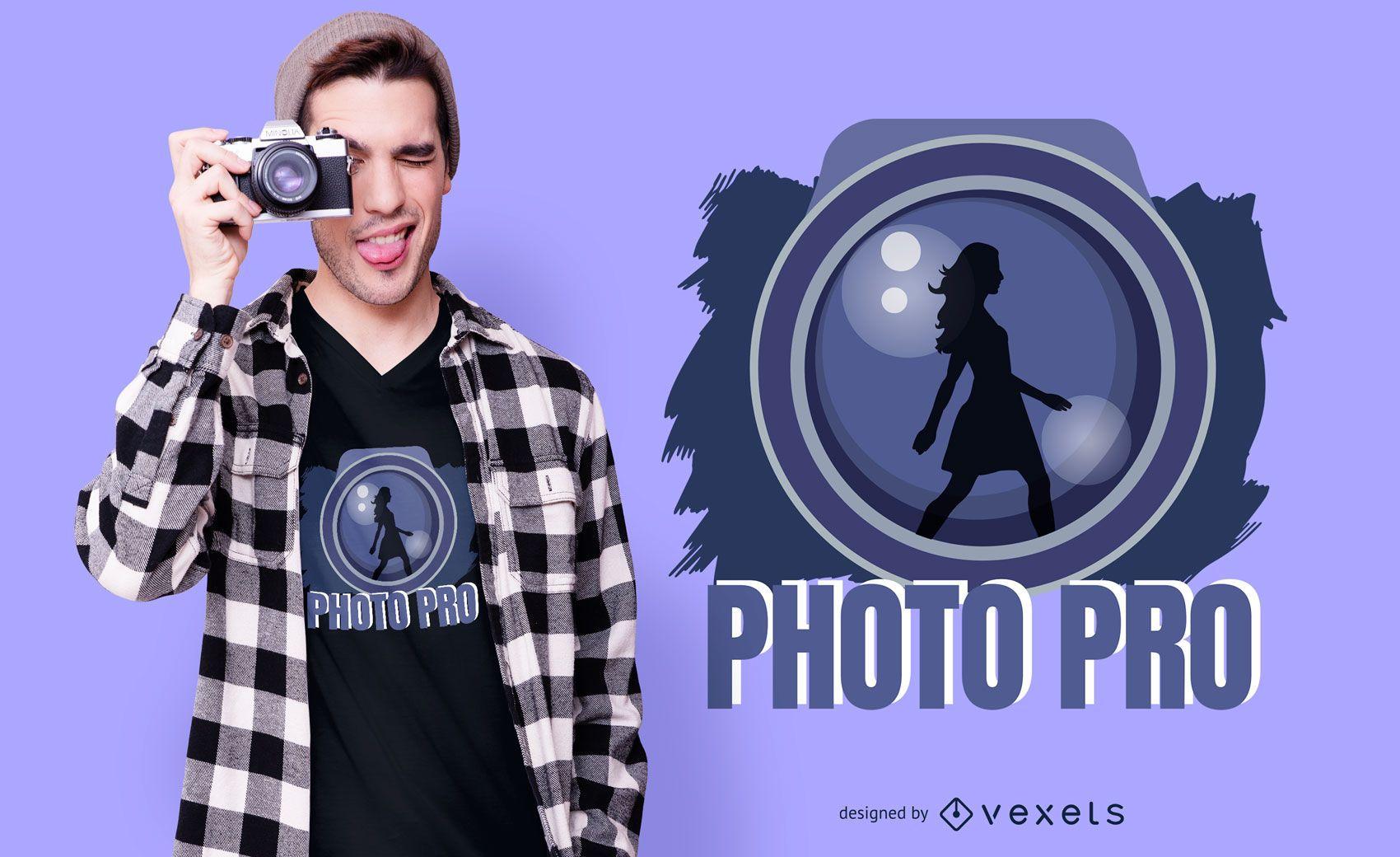 Photo Pro T-shirt Design