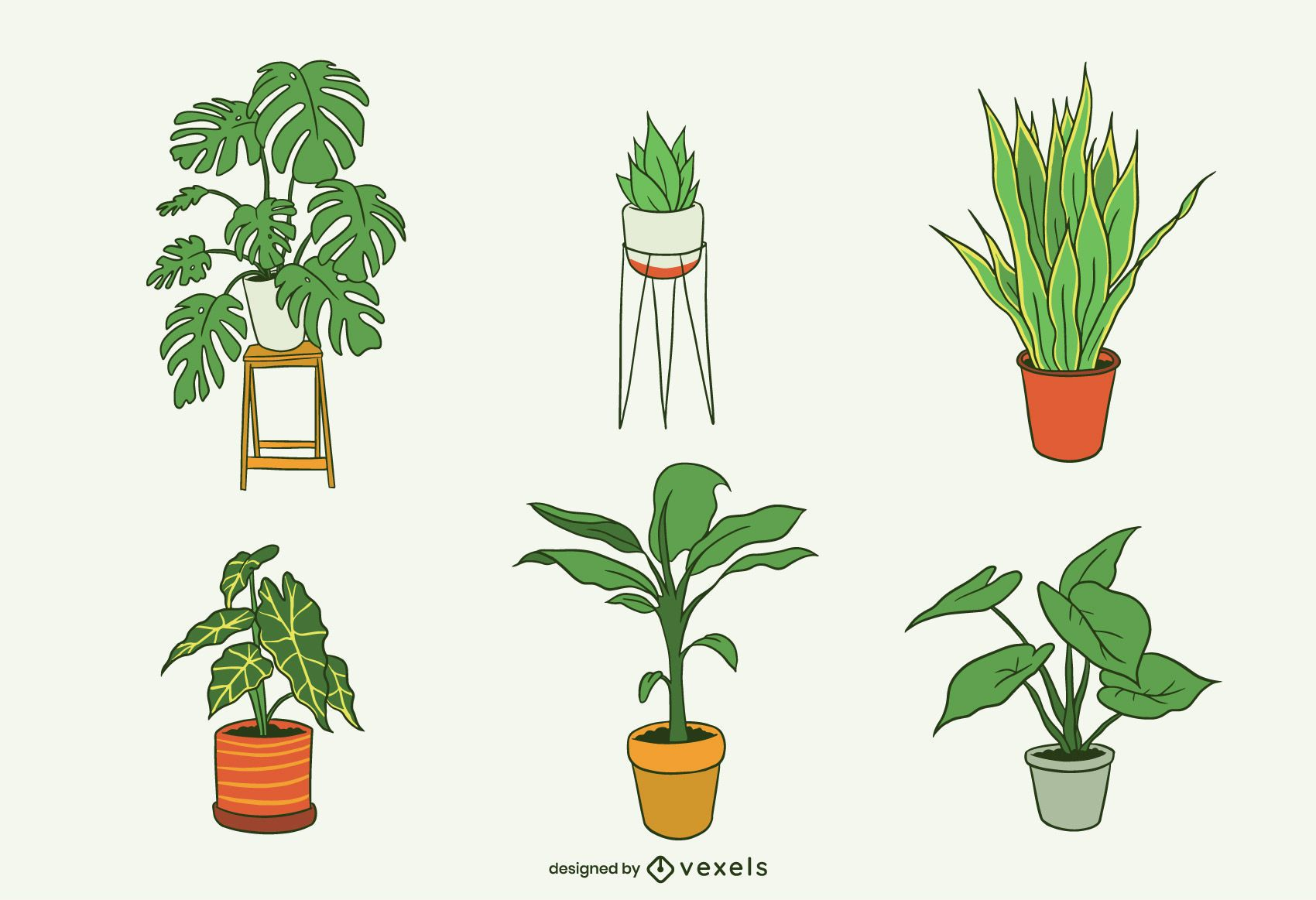 House Plants Illustration Pack