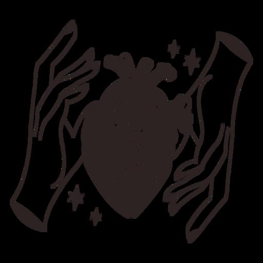 Anti valentines sticker sqeeze heart