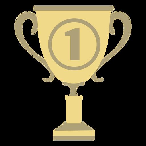 Award cup first flat